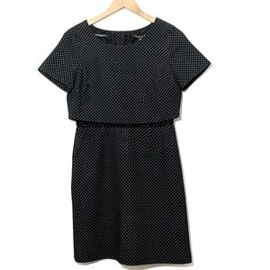 Scotch & Soda | Black Polkadot Lace Dress